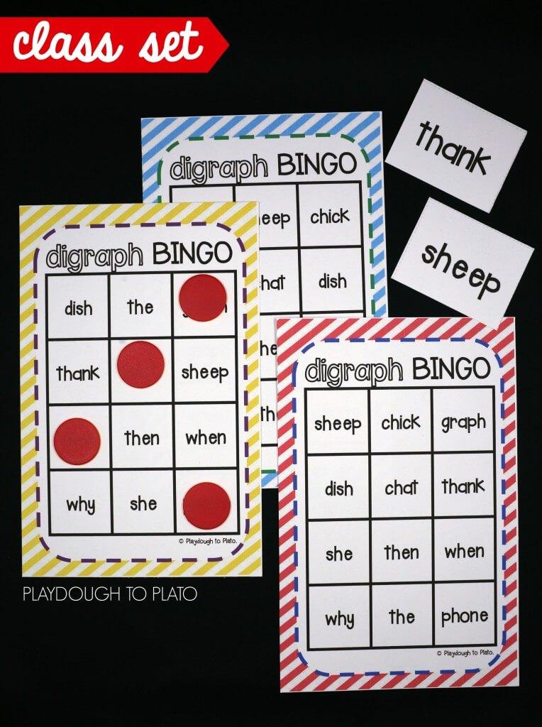 Class set of digraph bingo