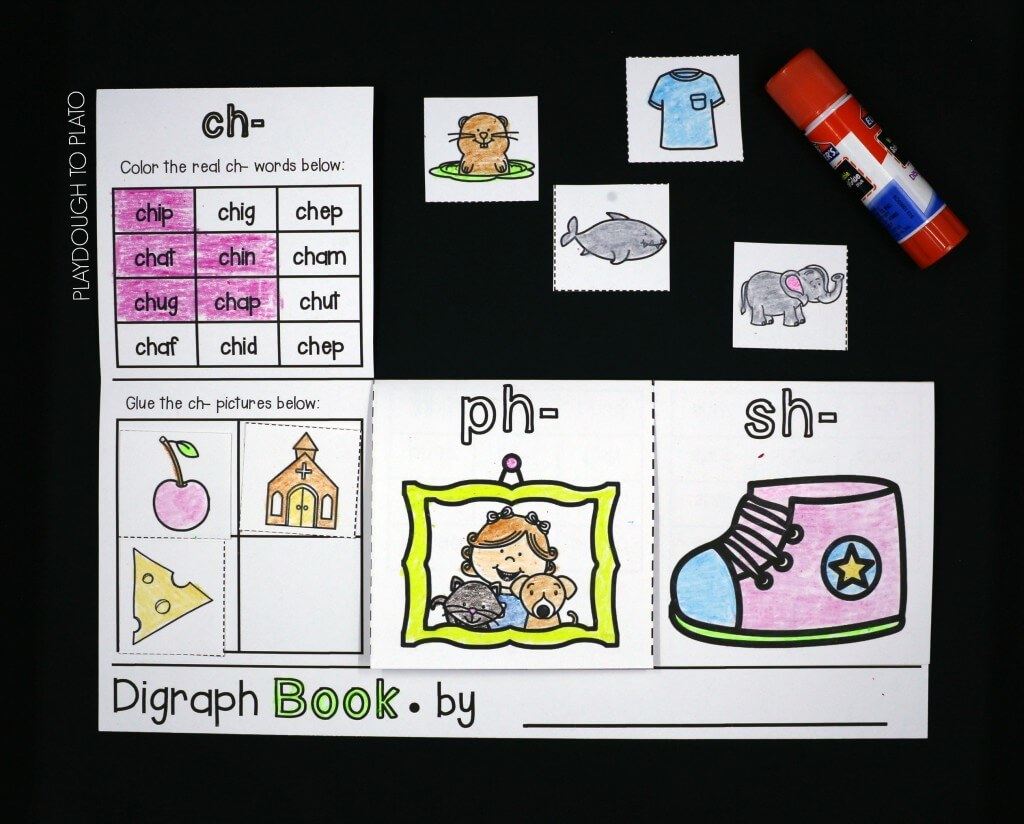 Digraph activity books!