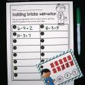 LEGO subtraction!