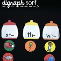 Sort the gumballs into the correct digraph jar