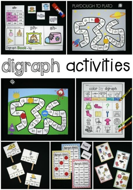 Digraph Activity Pack Playdough to Plato