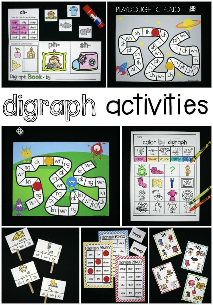 Tons of Fun Digraph Activities