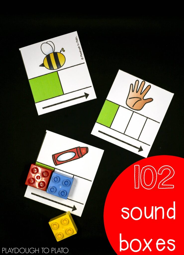 102 Sound Boxes for Phonemic Awareness
