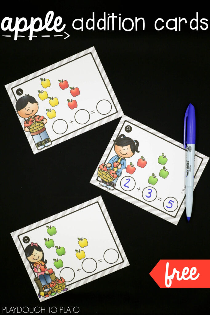 Free apple addition cards!