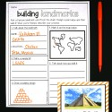 Landmark planning sheet