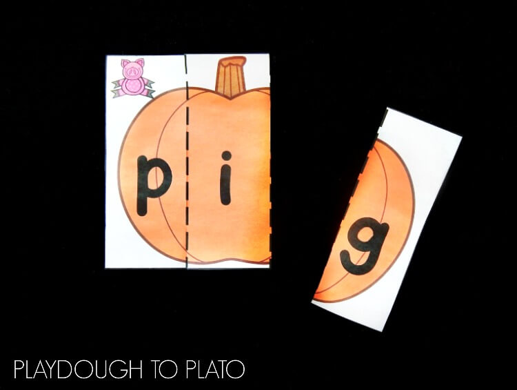 Pumpkin CVC puzzles 1