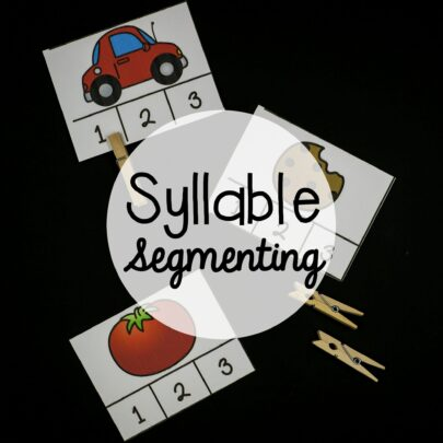 Syllable Segmenting
