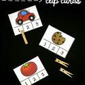 Syllable Segmenting Clip Cards