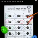 Use the sense of hearing to identify mystery sounds.