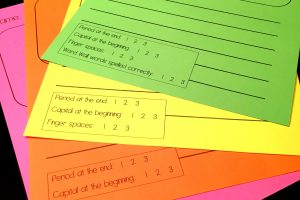 Differentiated Writing Paper with Rubrics