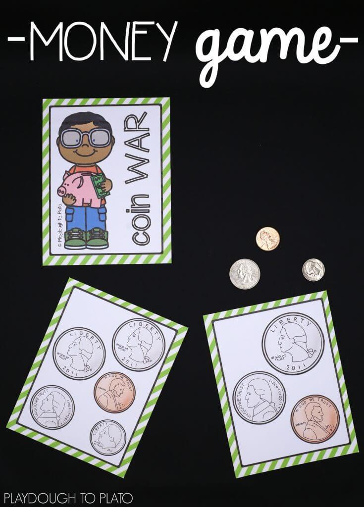 Awesome Money Activities - Playdough To Plato