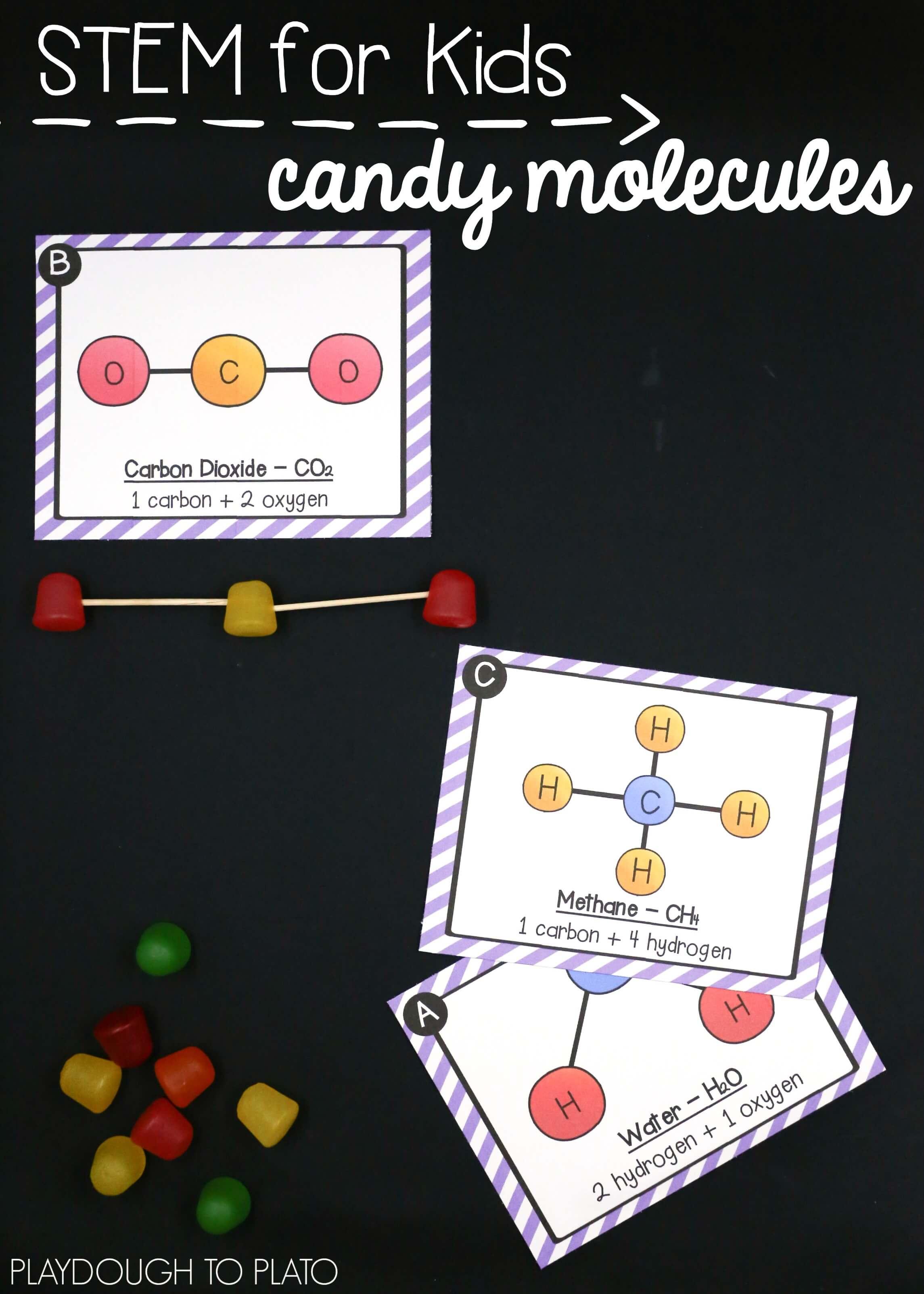 atom and molecule activities playdough to plato