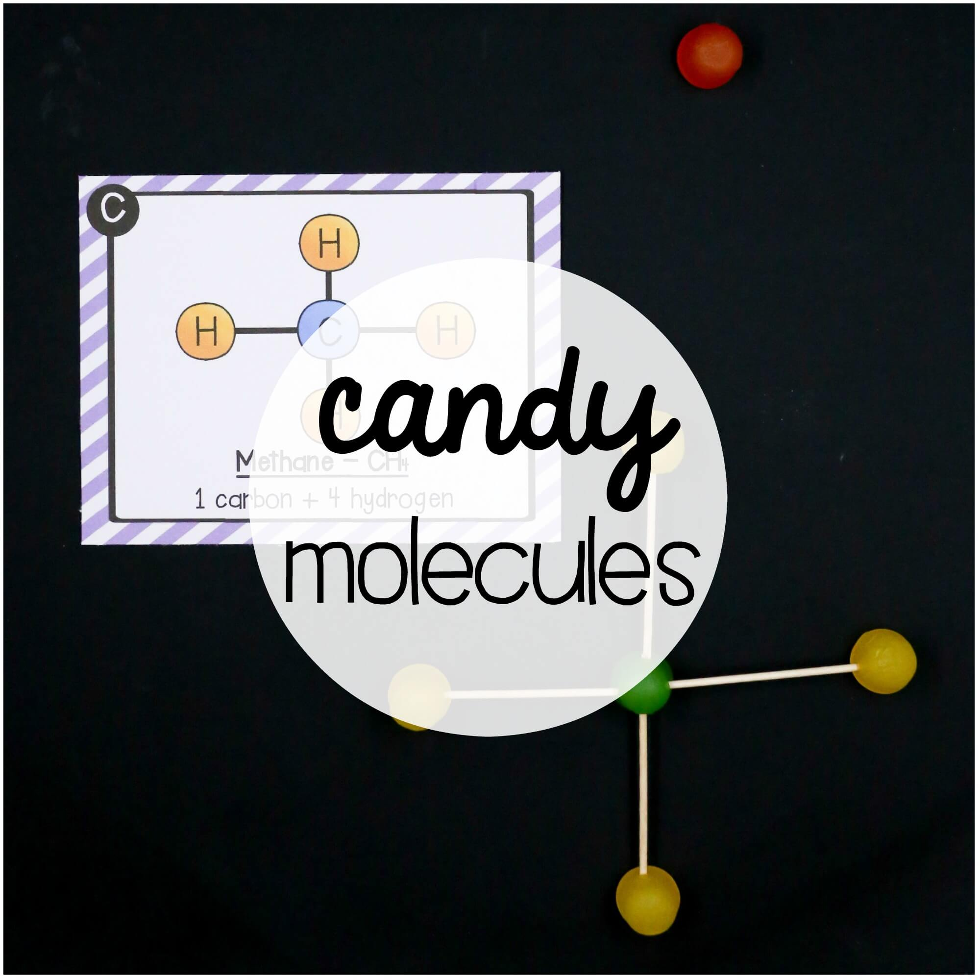 Prepare Your Child For Stem Subjects: STEM Challenge: Molecules And Atoms Pack