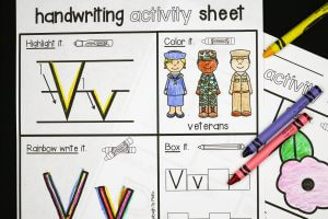 Veteran's Day Activity Sheets