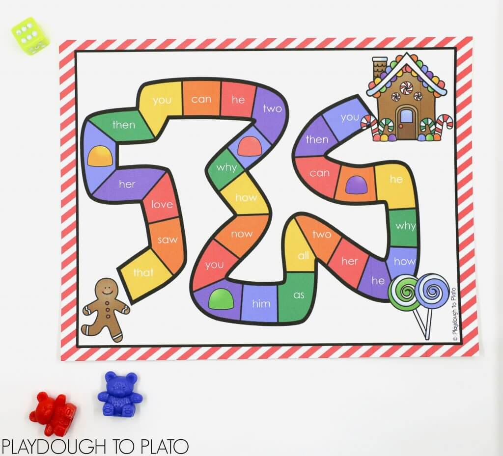 gingerbread-sight-word-game