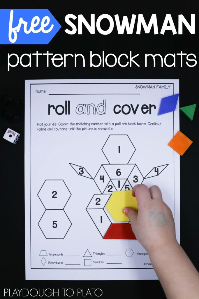 brilliant-snowman-pattern-block-mats