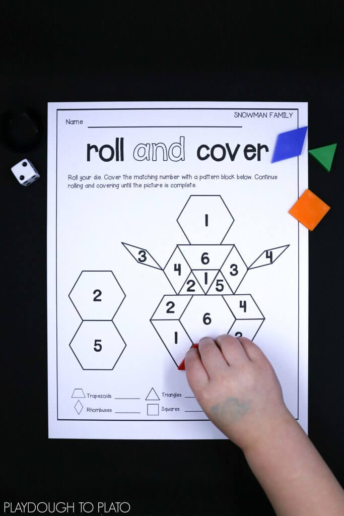 fun-snowman-pattern-block-mats