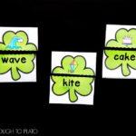 Magic E Shamrock Puzzles