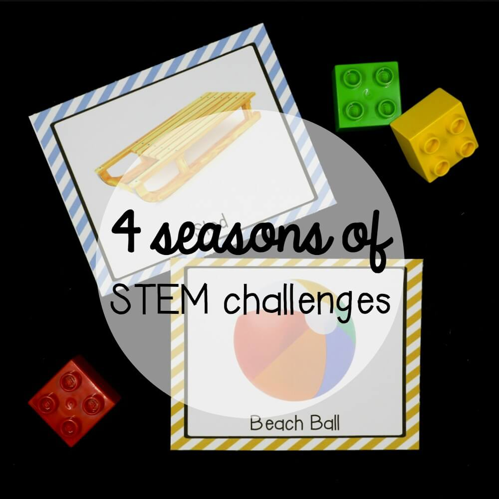 STEM Challenge: 4 Seasons of Building Cards