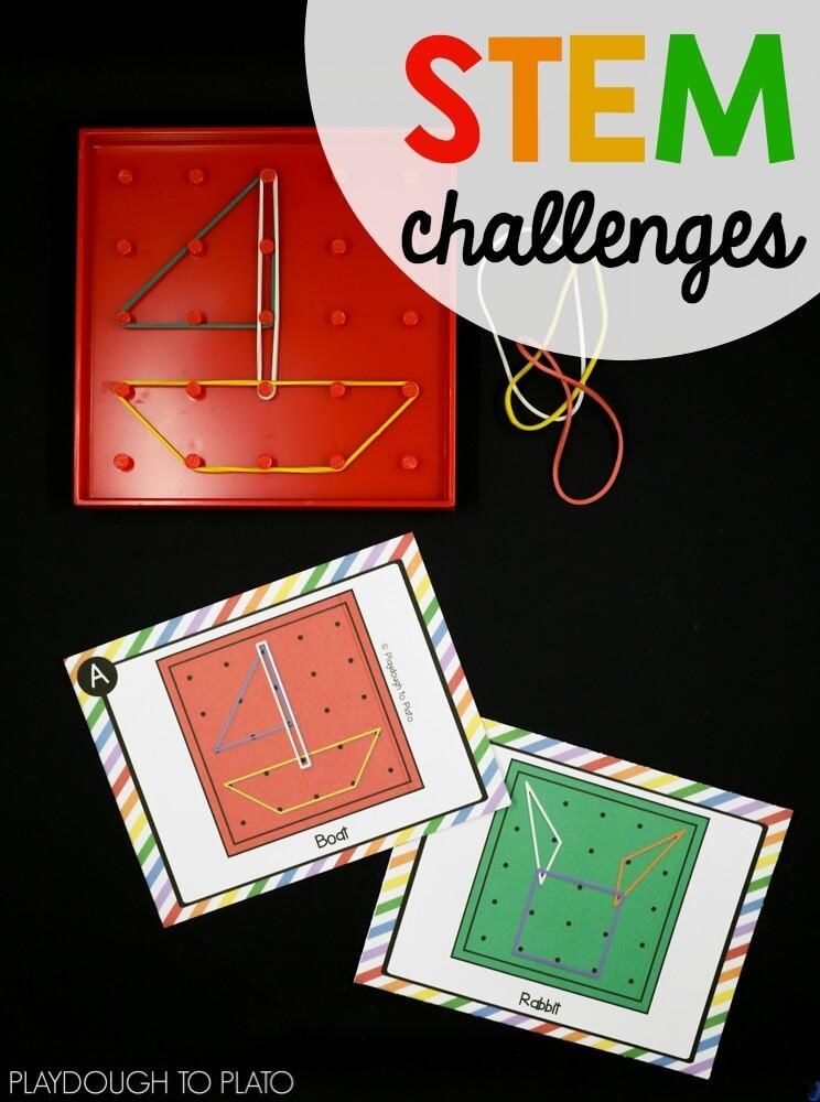 Geoboard STEM Challenges
