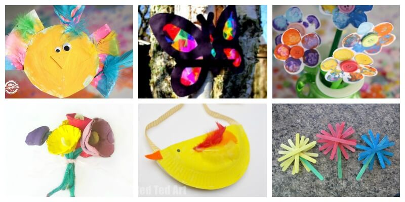 20 Spring Crafts For Kids Playdough To Plato