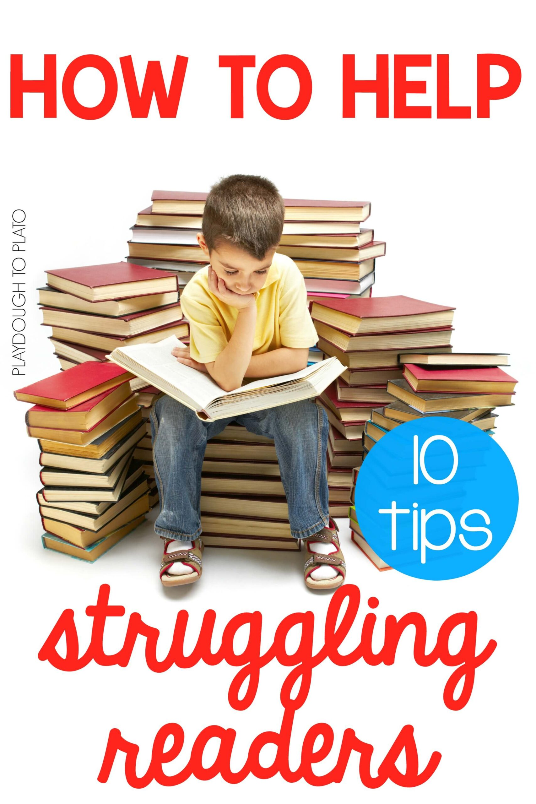 10 Ways to Help Struggling Readers