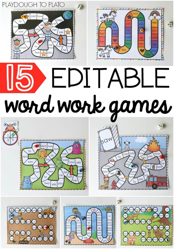 15 Word Work Games