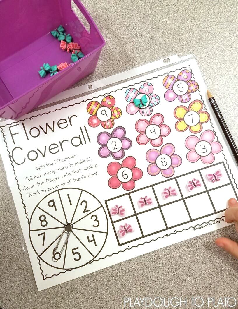 Flower Coverall Playdough To Plato