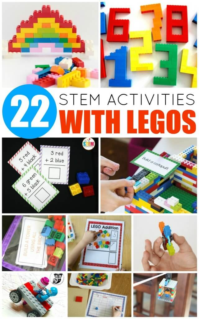 Your LEGO-loving kids will adore these LEGO STEM activities! Learn science, technology, engineering, and math with the help of LEGO!