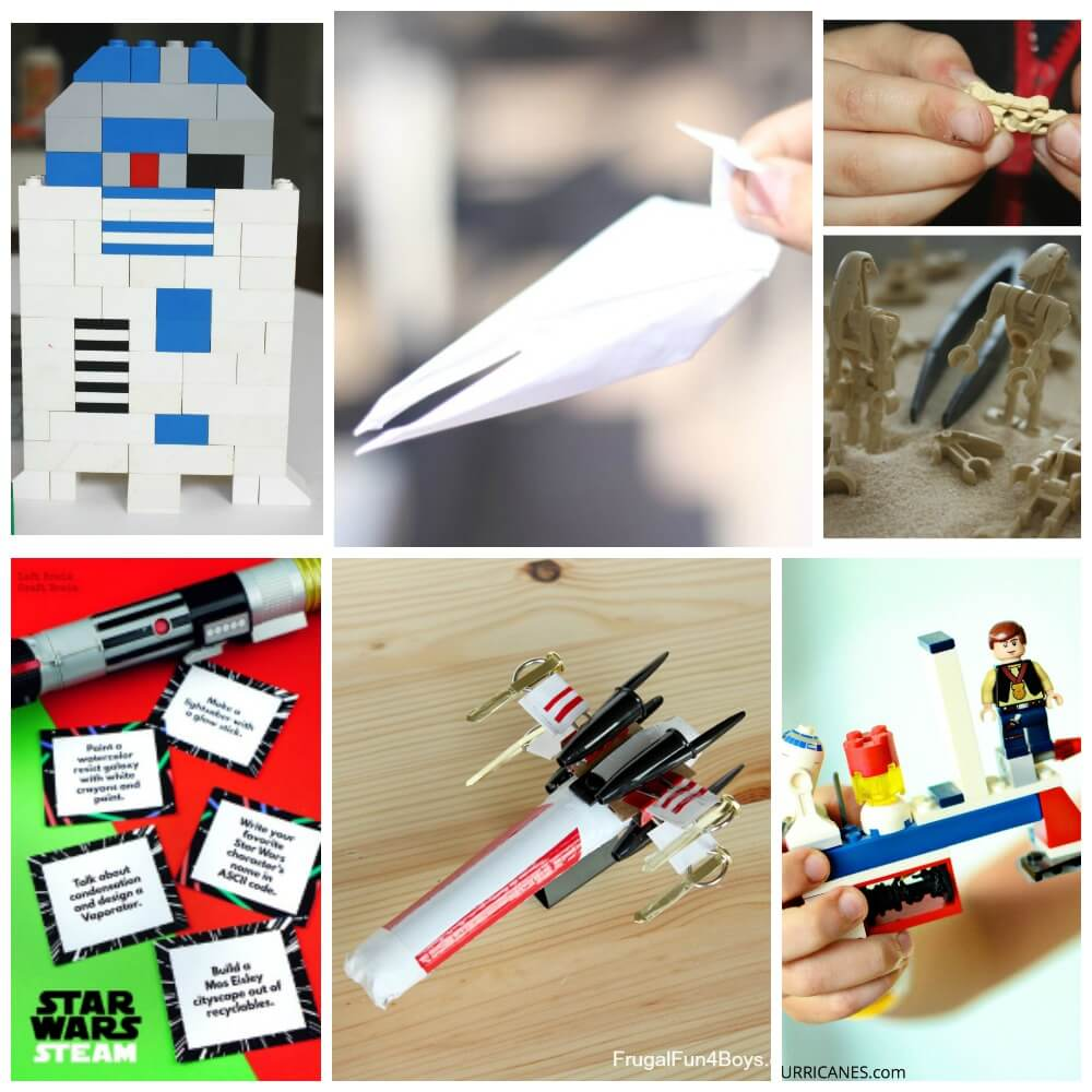 Star Wars lovers will adore these educational and fun Star Wars STEM activities! Get geeky and learn with these hands-on ways to learn with Star Wars.