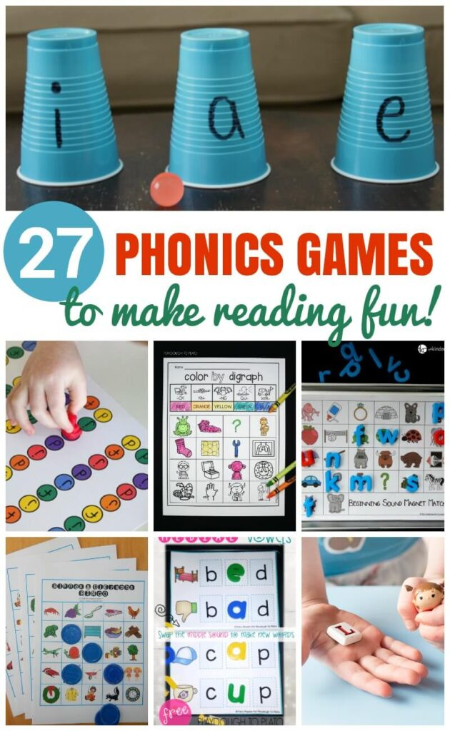 free phonics games for first grade