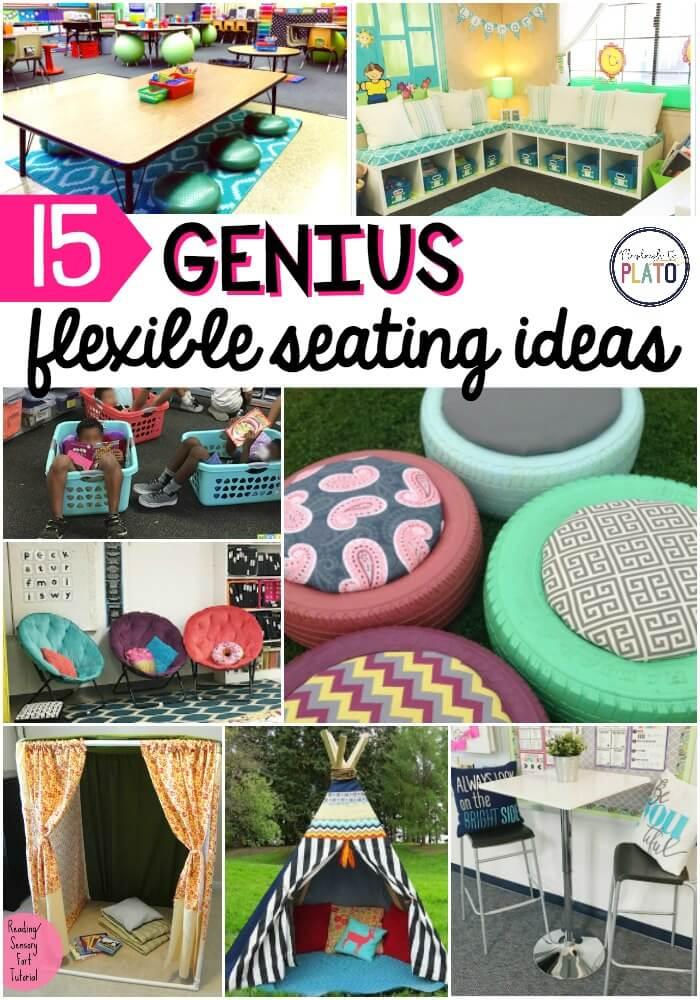 15 Flexible Seating Ideas