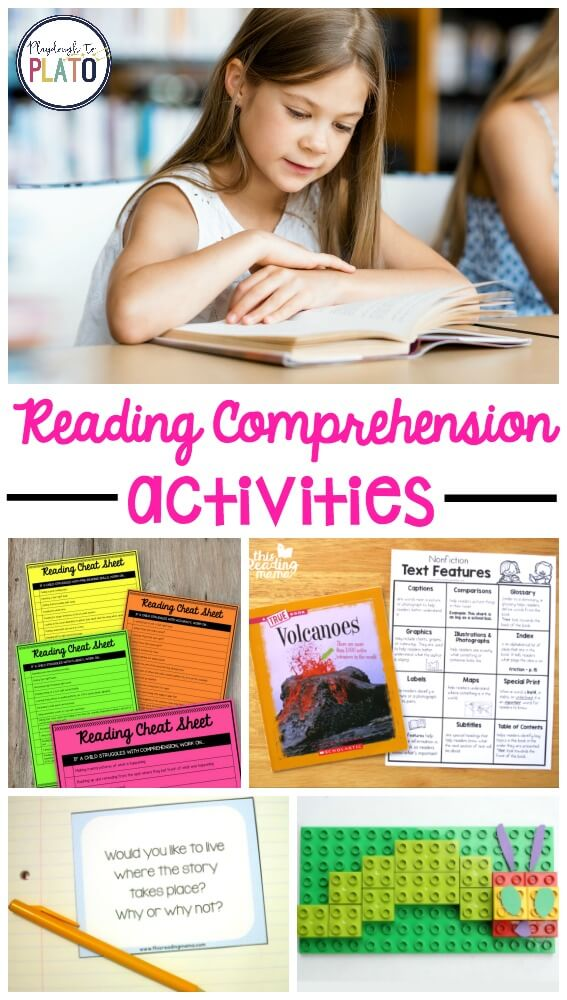 Reading Comprehension Activities