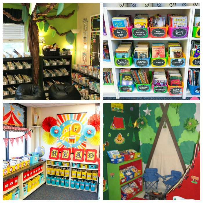 Create A Comfortable Reading Nook With These 10 Seating Ideas: Gorgeous Classroom Libraries