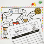 Cookie Word Work Game