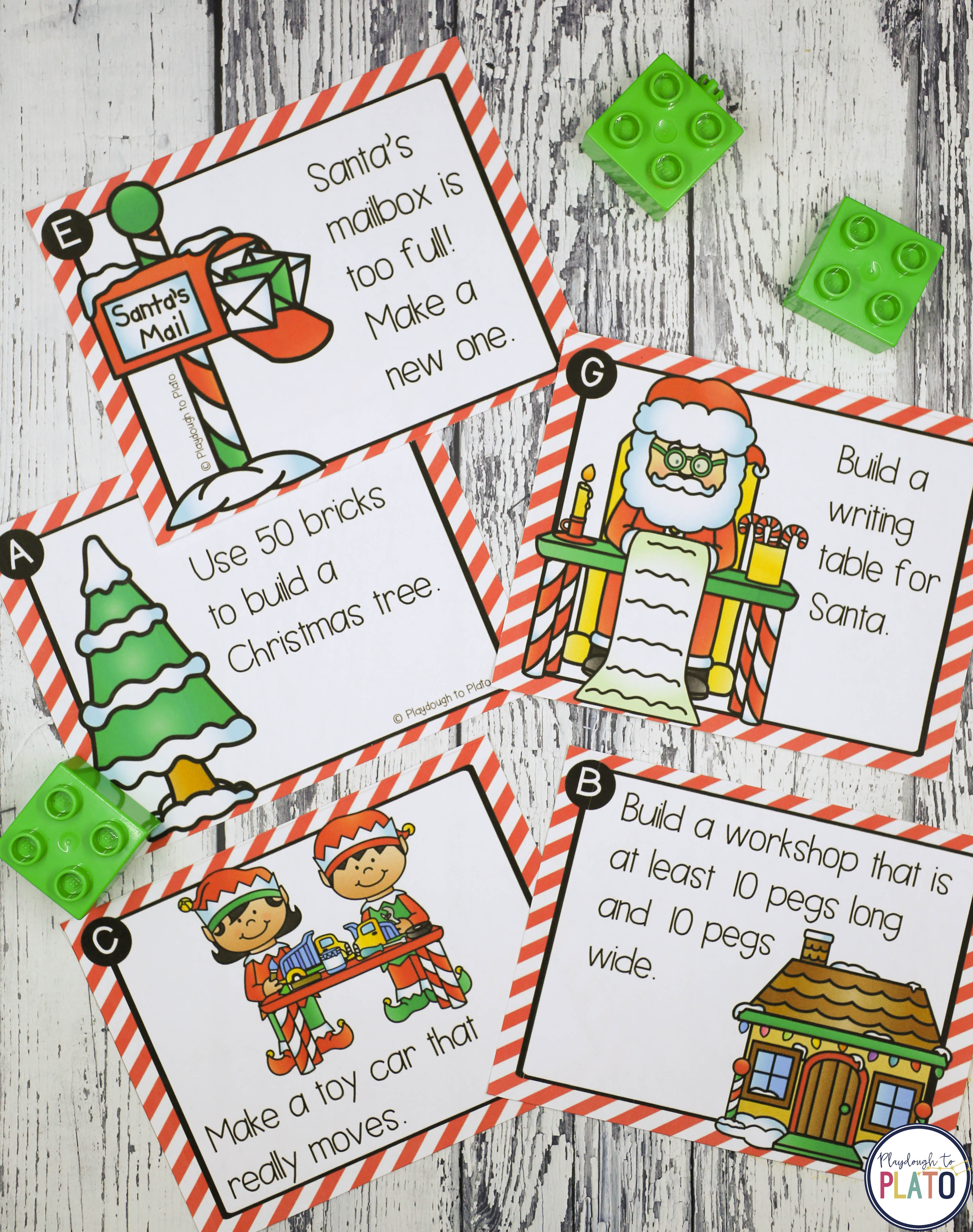 Christmas Stem Challenges.Christmas Stem Challenges