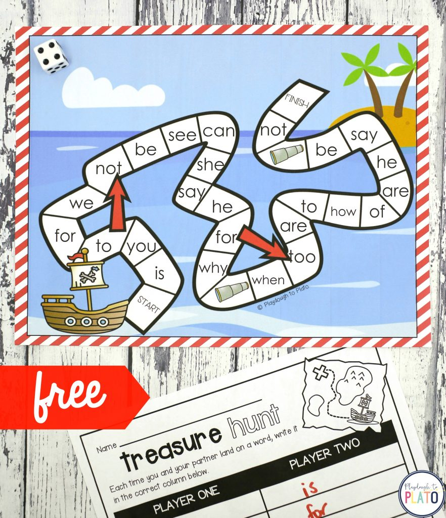 This is an image of Superb Free Printable Sight Word Games