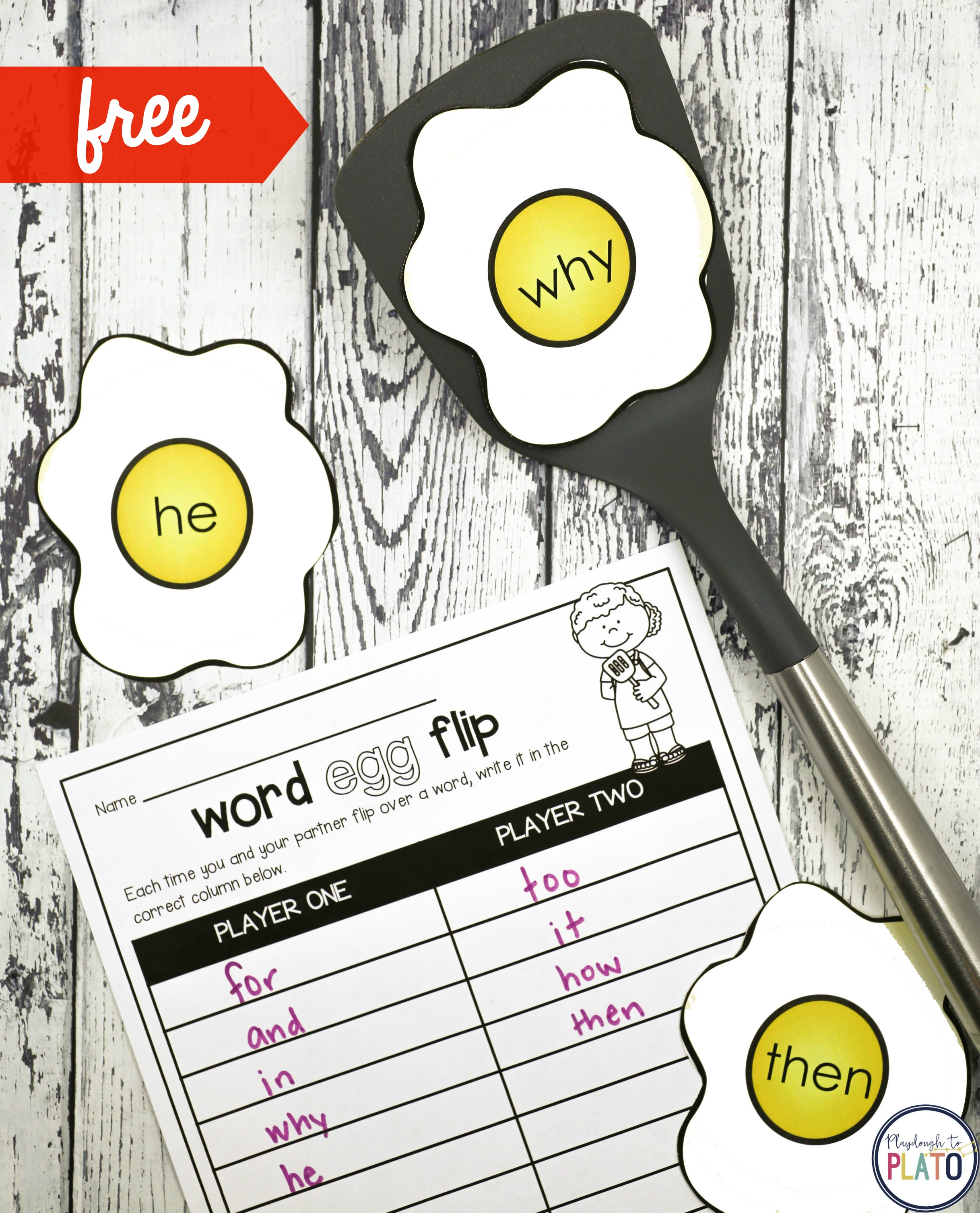 graphic regarding Free Printable Sight Word Games called Absolutely free Sight Phrase Online games - Playdough Towards Plato