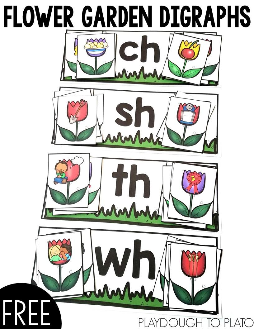 Flower Garden Digraphs