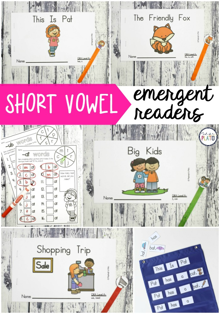 Short Vowel Emergent Readers