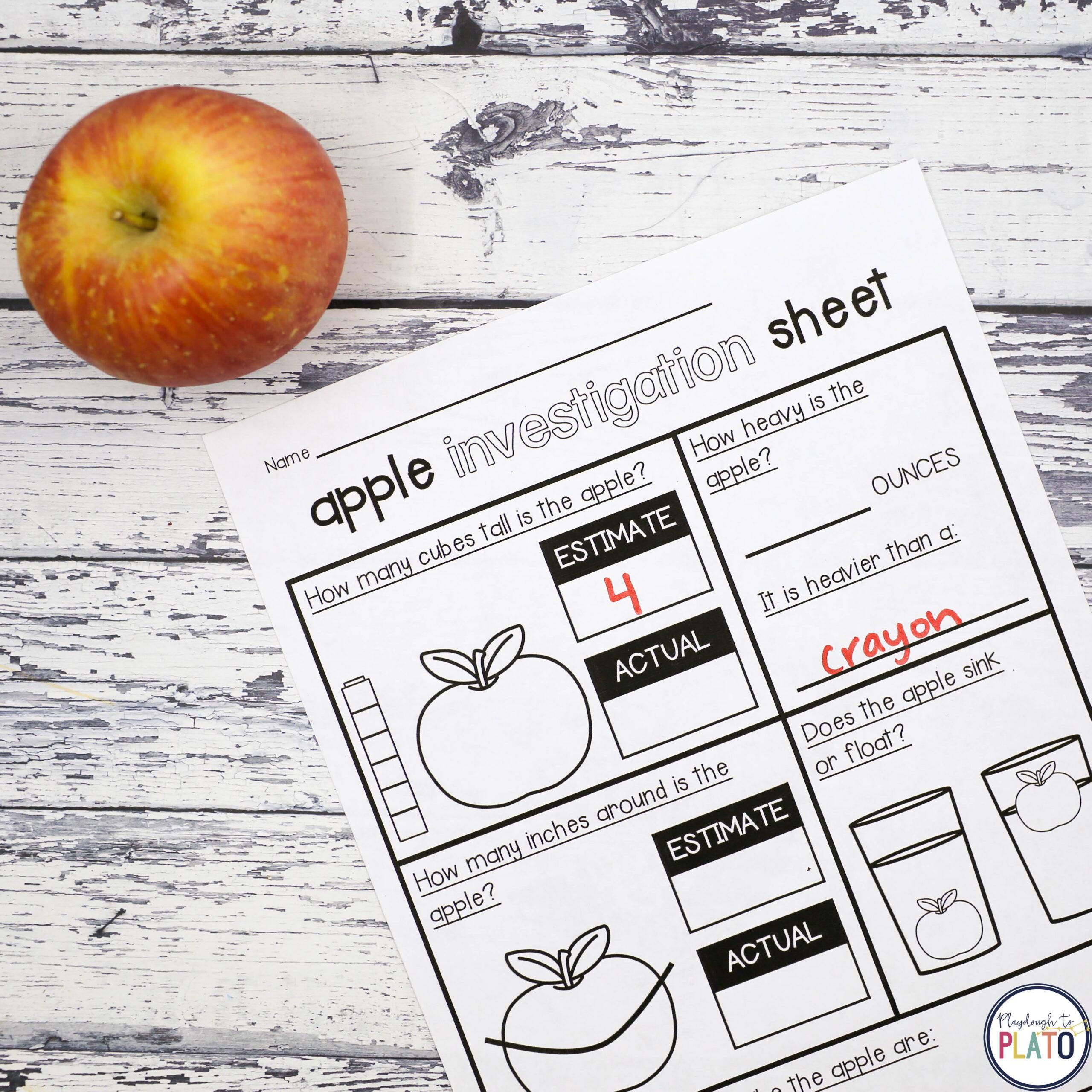 Apple Activities!