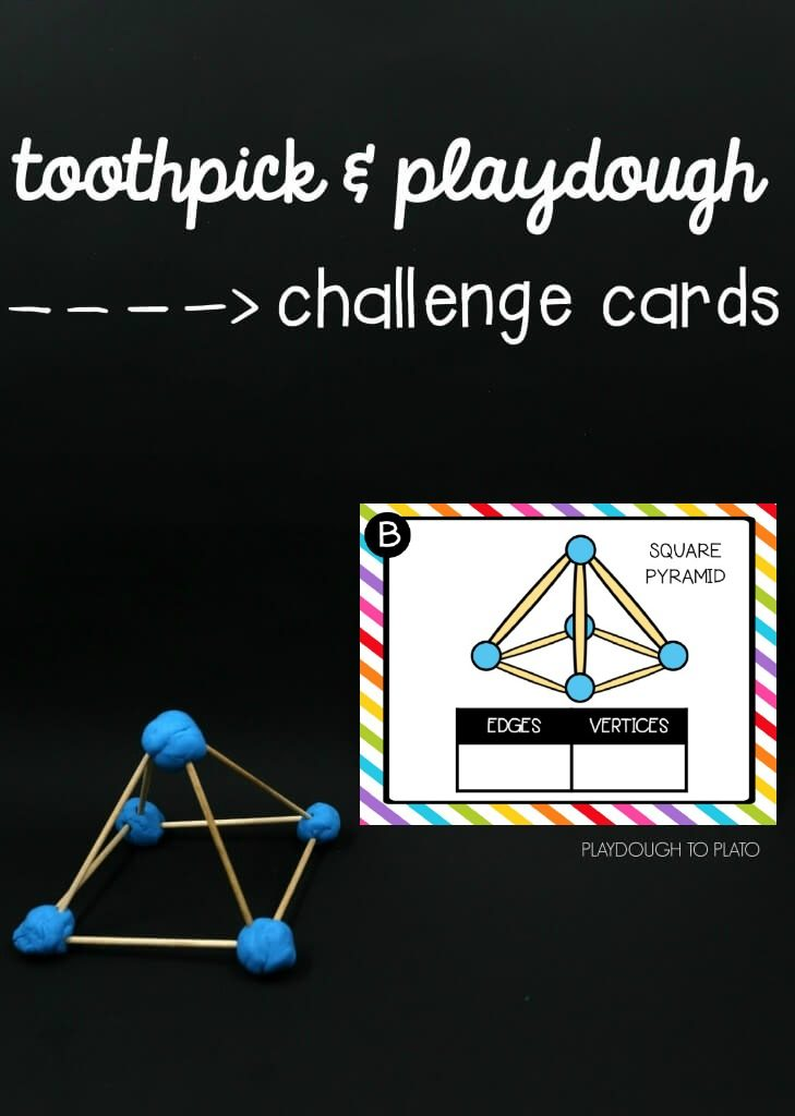 Toothpick Stem Structures Playdough To Plato