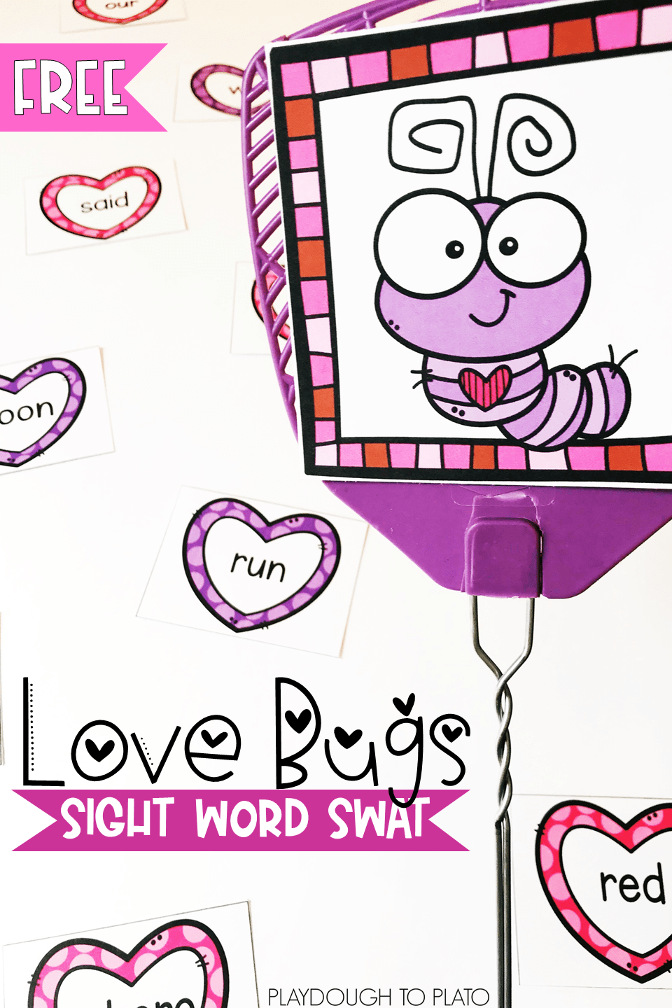 Love Bugs Sight Word Swat