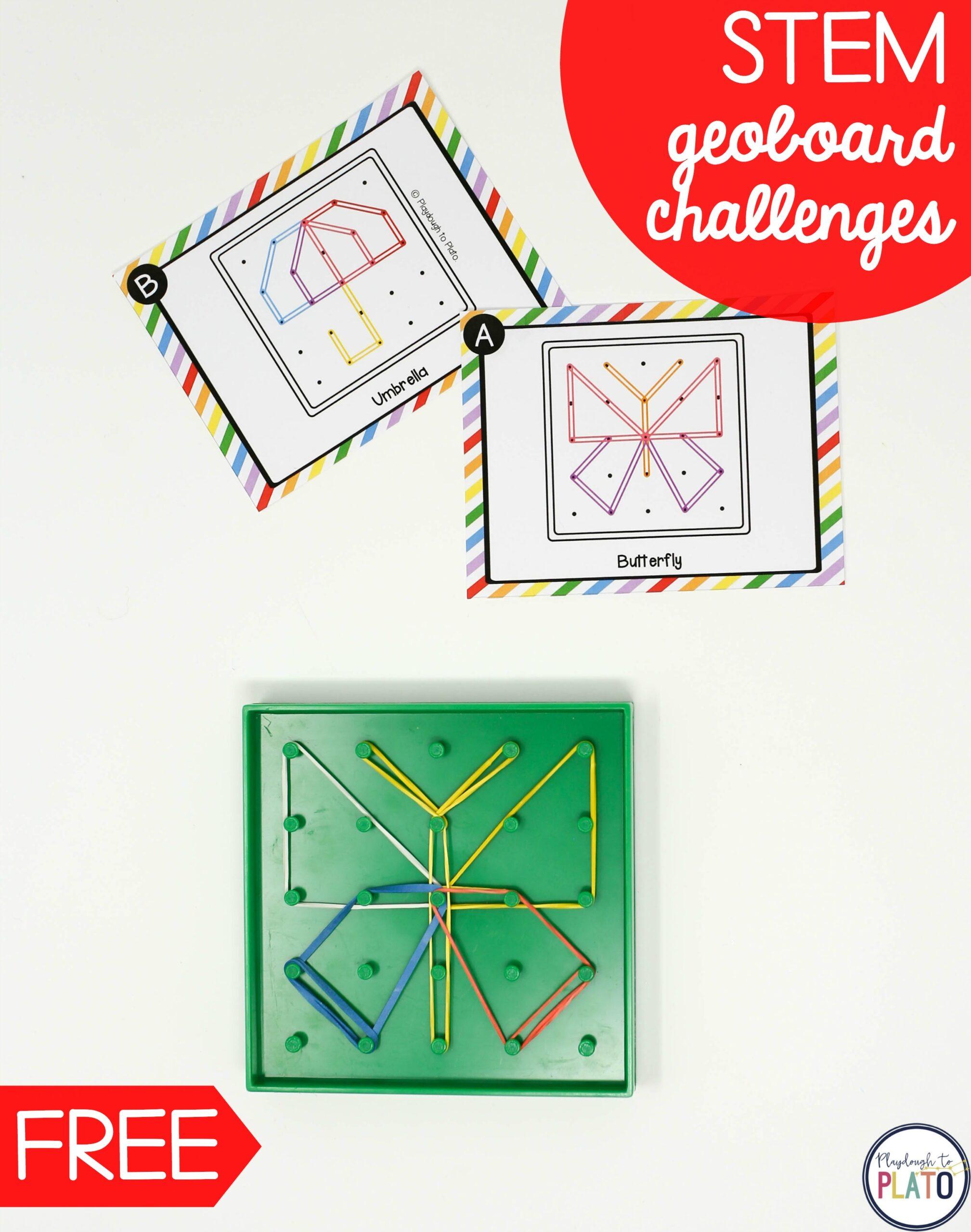 STEM Geoboard Challenges