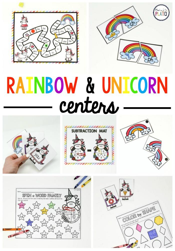 Rainbow + Unicorn Centers