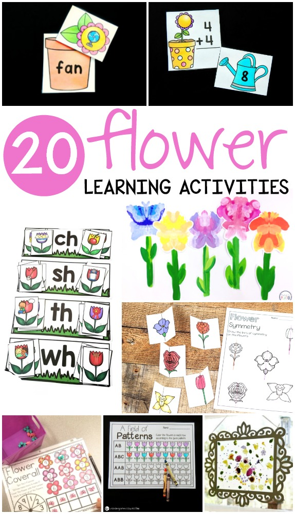 d6da3efda Scroll below to see some great literacy, math, science and art flower ideas  that are sure to brighten up your classroom… and your pocketbook!