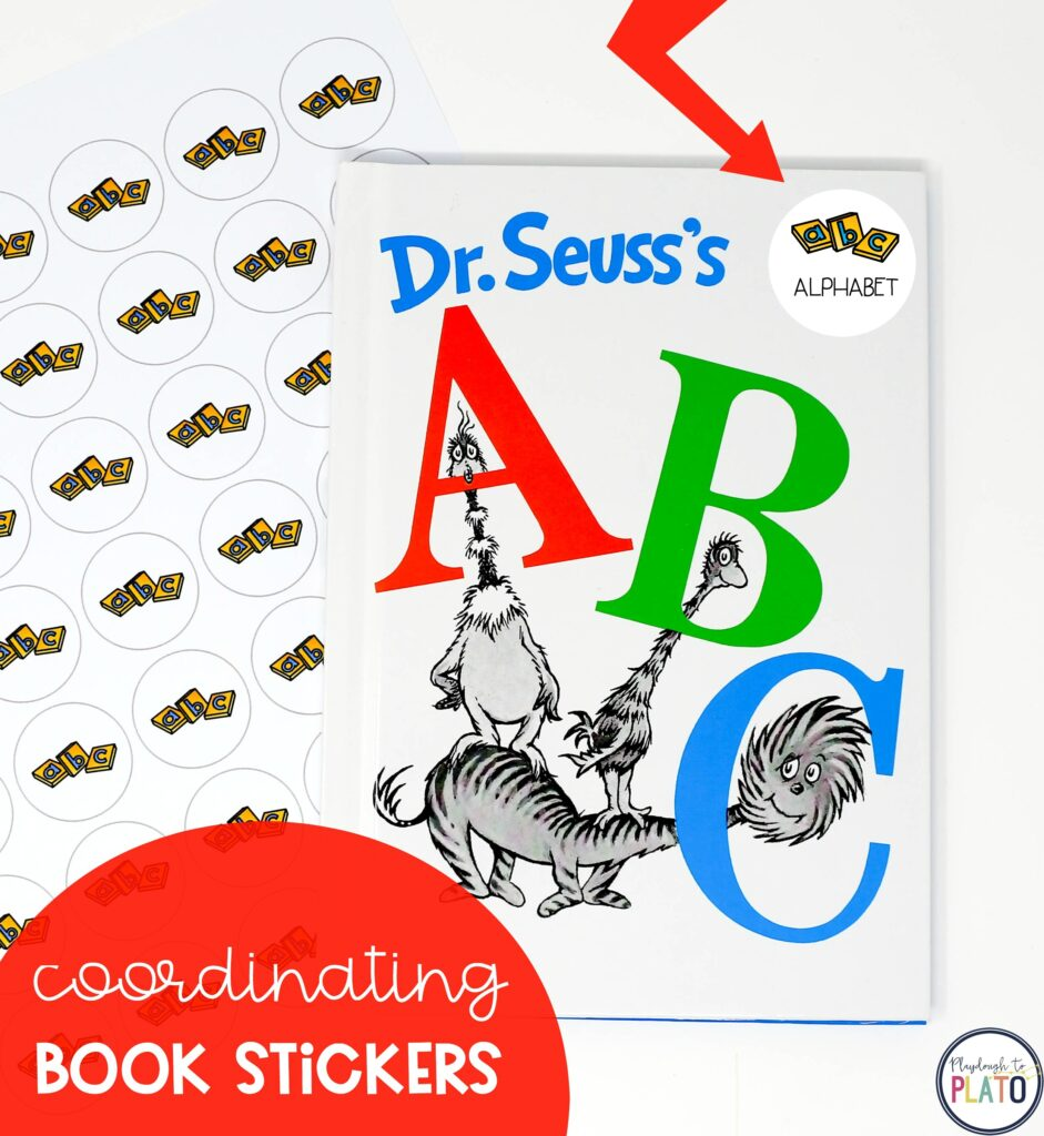 Classroom Library Labels & Stickers - Playdough To Plato