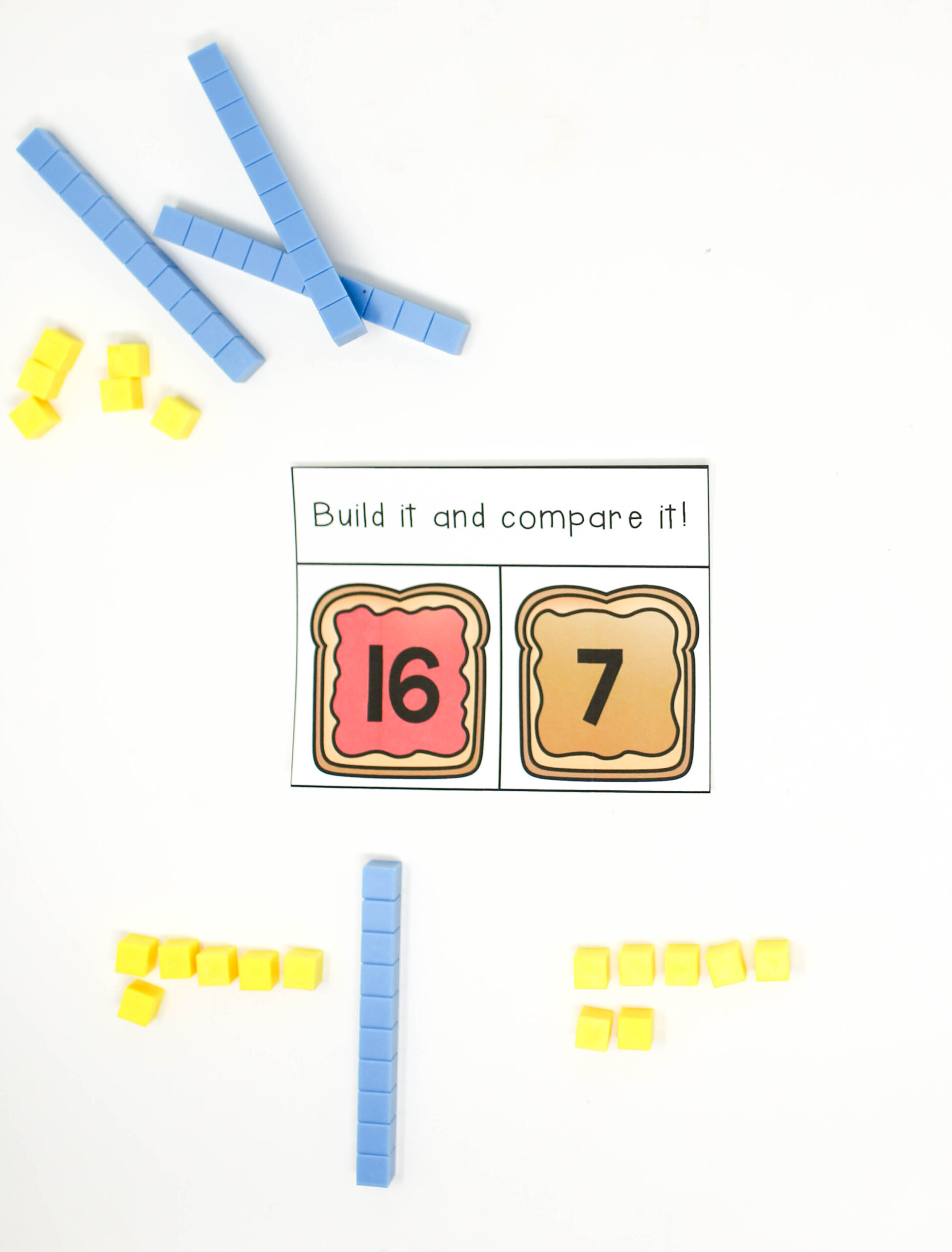 Build and Compare Numbers