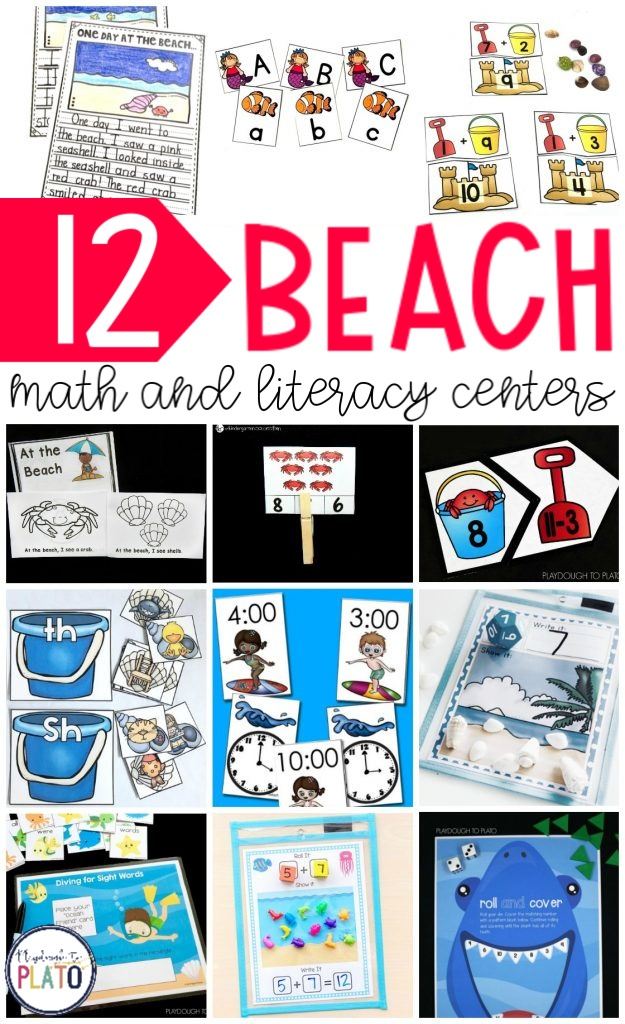 Beach Themed Learning Activites
