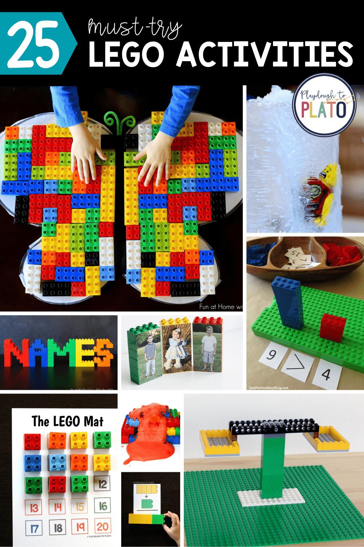 25 Must-Try LEGO Activities